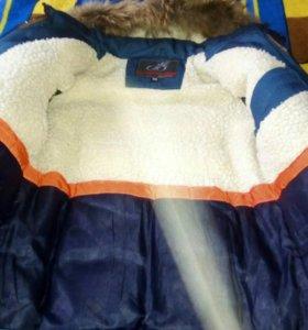 Зимняя куртка, на мальчика 8-10 лет. Возможен торг