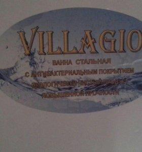 Стальная ванна Villagio 120×70