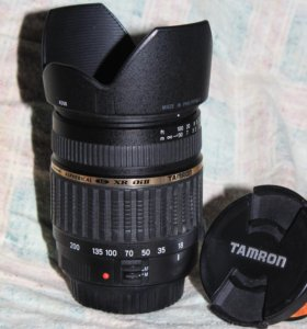обьектив ТАМРОН 18-200 EF-S