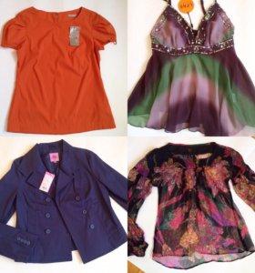 Новые блузы ,платья,жакеты