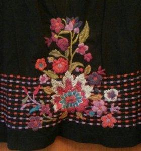 Платье с вышивкой цветы оригинал jwla 50-54