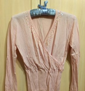 Джемпер розовый бесплатно. Размер 42-44