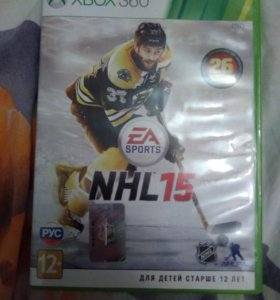 "Игра на xbox 360 ""NHL15"""