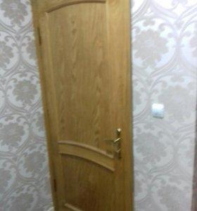 Дверь входная массив дерево