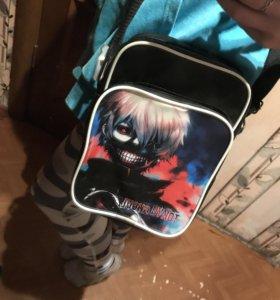 Аниме сумка токийский гуль