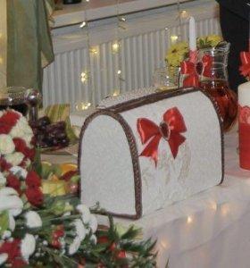 Свадебная шкатулка для подарков