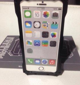 Алюминиевый противоударный  чехол для iPhone 5c