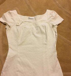 Блуза promod с коротким рукавом 42 р