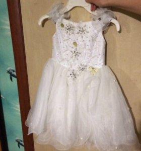 Платье детское для утренника
