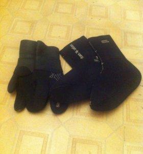 Носки и трехпалки