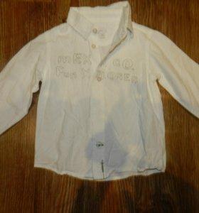 Рубашка мехх 86см