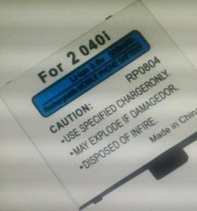👍 Аккумуляторная li-ion батарея Fly модель: 2040