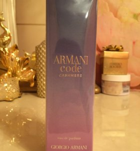 - Armani Code Cashmere парфюм женский