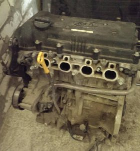 Двигатель 1.6 G4FC Rio / Solaris / Ceed и т.д