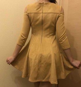 Платье замша искусственная