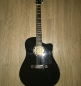 Гитара электроакустическая Fender CD-60CE BLK