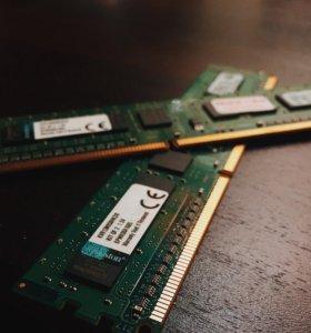 Оперативная память Kingston 8GB (kit)DDR3