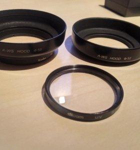 Ультрафиолетовый фильтр dicom UV 52 mm