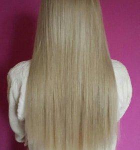 Наращивание волос с выездом и без