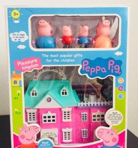 Домик свинка пеппа