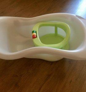 Ванночка и подставка для купания