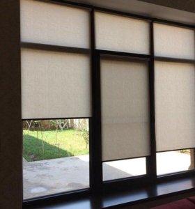 Жалюзи, рулонные шторы, окна