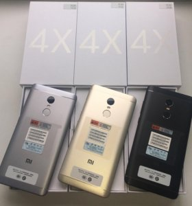 Xiaomi Redmi Note 4X 3/16gb Год гарантии