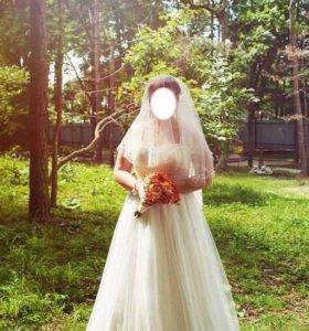 Свадебное платье р-р 50-52