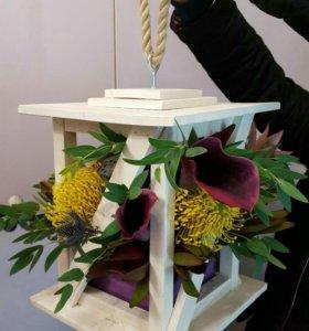 Деревянные ящики для цветов 🌹🌹🌹
