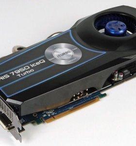 Видеокарта 7950 his turbo 3g