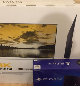 Sony Bravia TV+Sony PS4 Pro