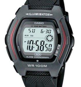 Часы CASIO HDD-600 Оригинал Спортивные Водонепрони