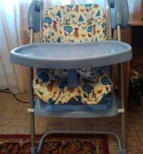 Детский стул-качеля(музыкальный)
