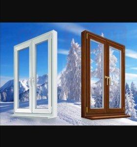 Окна Двери Витражи Балконы(ПВХ,(AL)