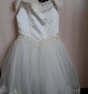 Платье праздничное возраст 4-7