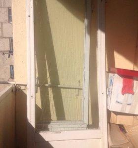 Дверь балконная 2 шт