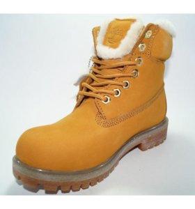 Новые ботинки Timberlands