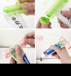 Выжималка Для зубной пасты на присоске