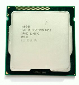 Процессор Intel Pentium G850 2900MHz, сокет 1155