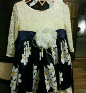 Красивое платье 92-98