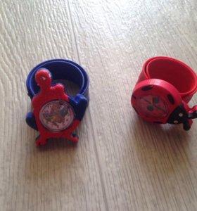 Детские часы, новые!