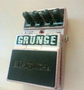 Digitech Grunge distortion - гитарная педаль