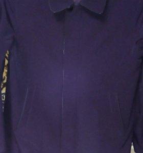 Весенняя Куртка. 48 размер. Черный цвет.