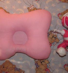 Новая.Ортопедическая подушка бабочка.
