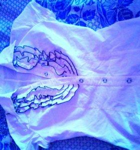 Блузки для школы на девочку 10-14 лет