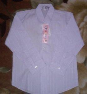Белая рубашка новая