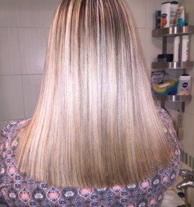 Полировка волос,кератин,ботокс