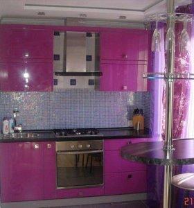 Кухня фиолетка