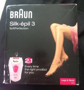 Эпилятор Braun 2 в 1