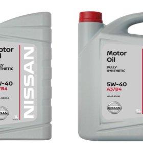 Моторное масло Nissan 5W-40